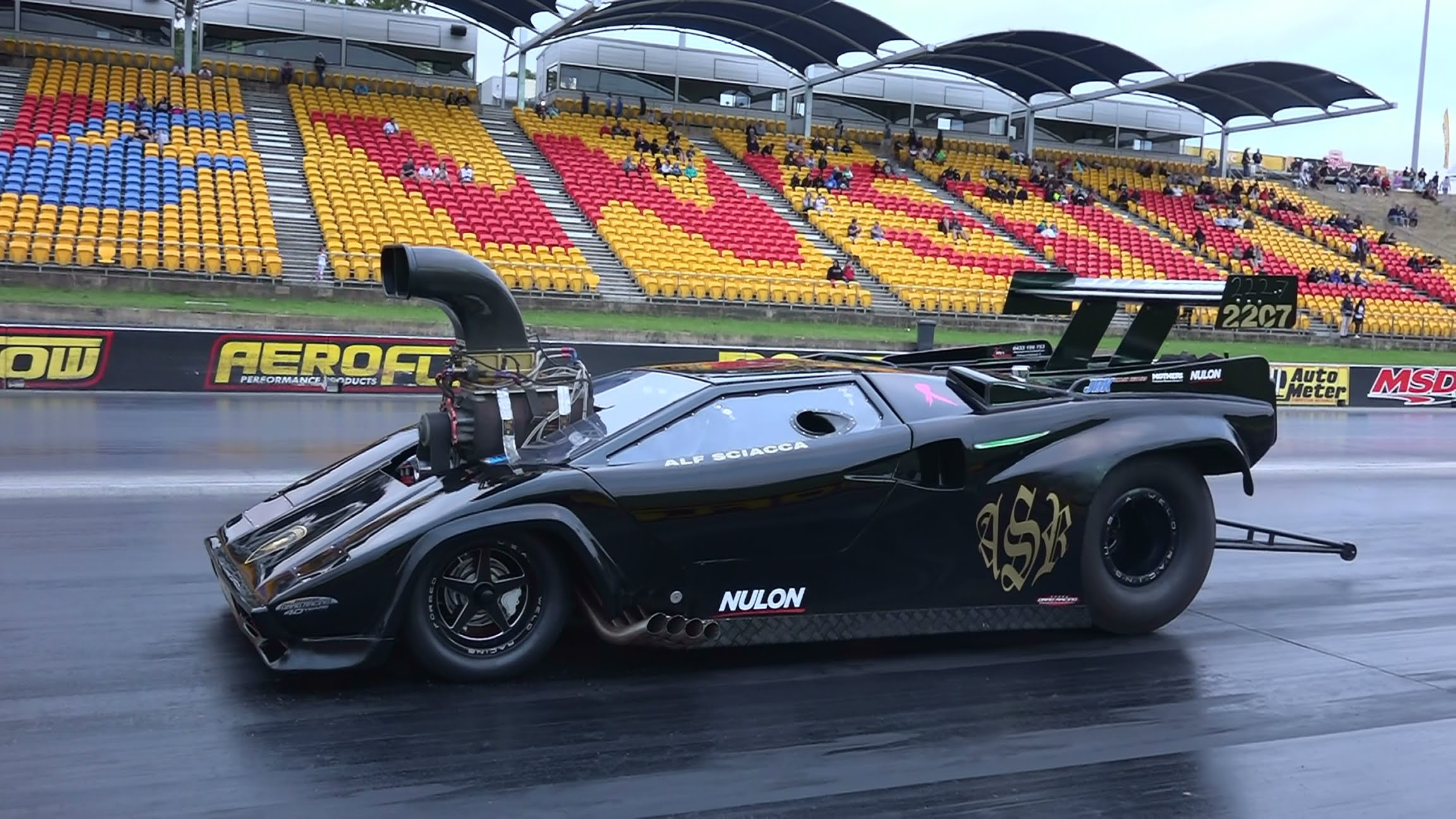 Supercharged V8 Lamborghini Drag Racer Is The Meanest Supercar You ...